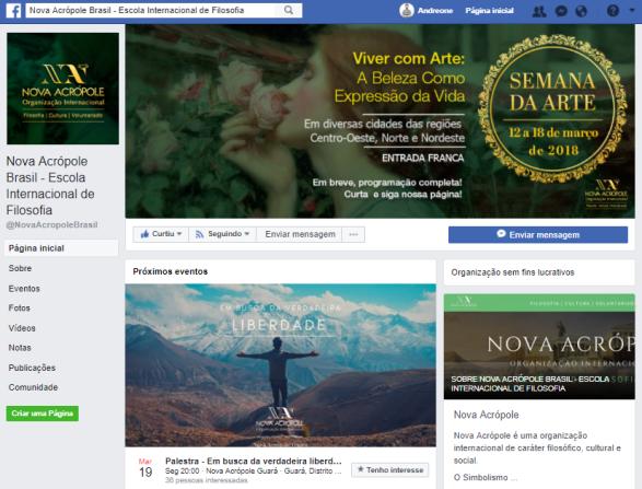Nova Acrópole Facebook