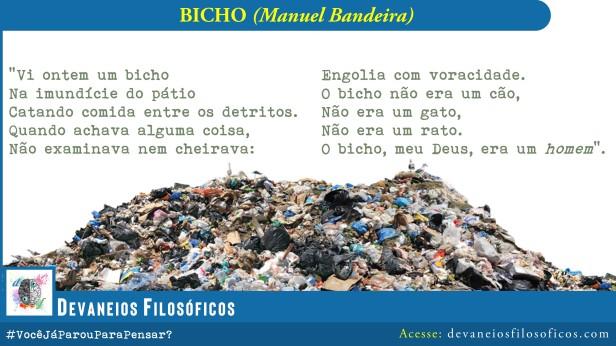 O Bicho - Manuel Bandeira