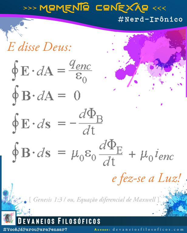 Equação de Maxwell - da Luz