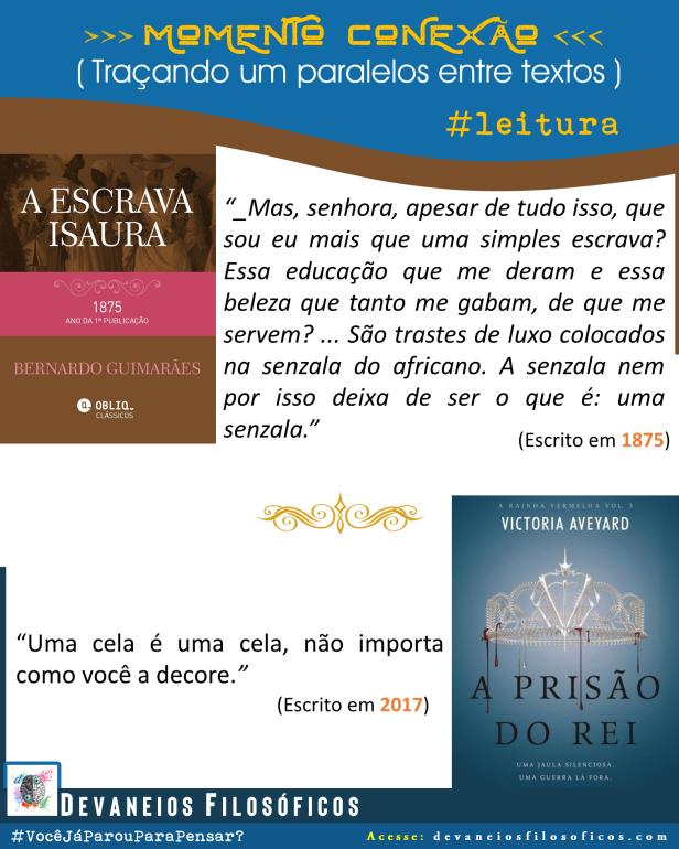 Textos comparados (Escrava Isaura e A Prisão do Rei)