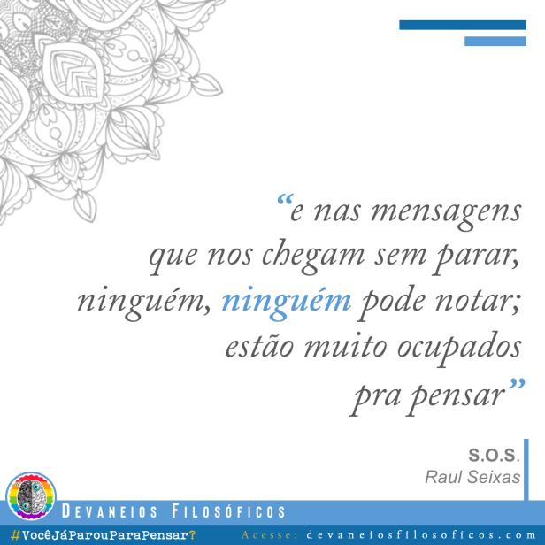 SOS - Raul Seixas
